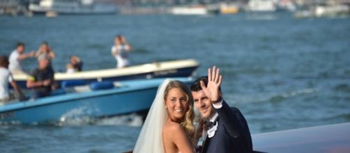 Le foto delle nozze dell'anno a Venezia tra Alvaro Morata e Alice Campello
