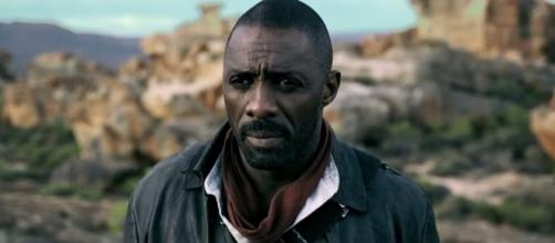 Photo Idris Elba as the Gunslinger screen capture from YouTube video/FilmSelect Trailer