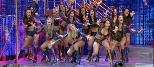 Saiba quanto ganha uma bailarina do Domingão do Faustão ( Foto: Divulgação)
