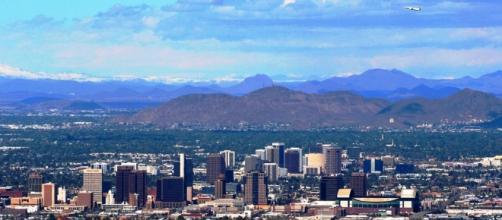 Temperatures soar in Phoenix and Las Vegas. - wikimedia.org