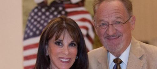 'The Young and the Restless' Kate Linder and husband Ron Linder, who passed away today (Image via Twitter ALSPublicPolicy)