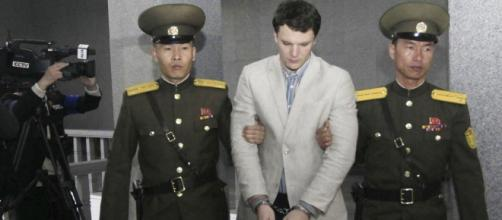 Trump attacks 'brutality' of North Korea after imprisoned Otto's death -Twitter/@iyouport_news