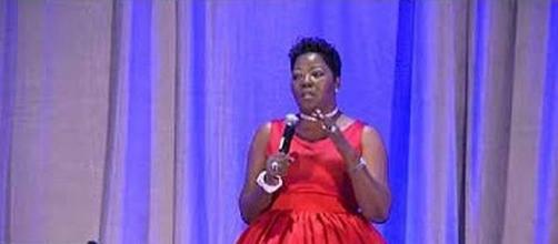 Wanda Durant, mother of Kevin Durant [Image via support circle clinics/YouTube screencap]