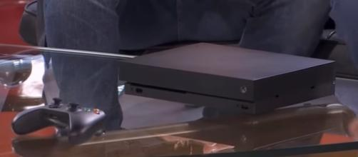 Xbox One X World's First Unboxing! / Screencap Itsredfusion via Youtube