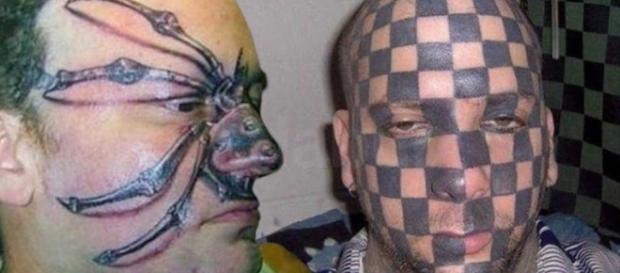 As tatuagens mais bizarras que você verá em sua vida