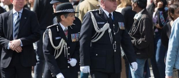 Cressida Dick at funeral. / Image by Katie Chan, Wikimedia:https://commons.wikimedia.org/wiki/File:Keith_Palmer's_funeral_(007).jpg, CC BY-SA 4.0