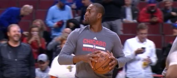 Dwyane Wade will most likely stay in Chicago - YouTube screenshot via Chris Smoove channel