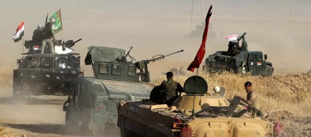 Iraqi forces edge into Mosul's old city, Nuri mosque in sight