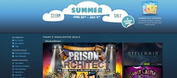 Steam Summer Sale 2017 (credit to Steampowered)