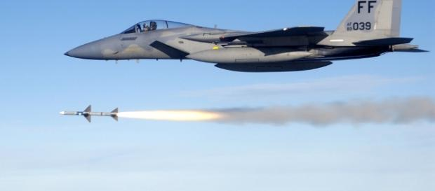 USAF F-15E SHOOTS DOWN HOSTILE DRONE IN SYRIA - Wikimedia Commons