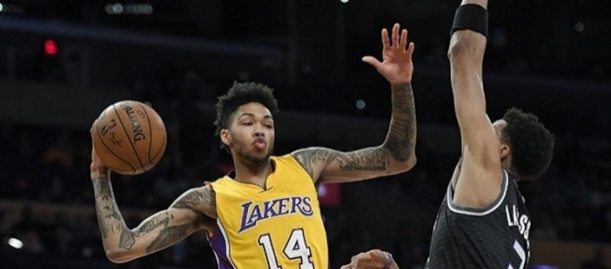 4de0b575d3d2 Lonzo Ball feels Brandon Ingram has a superstar potential