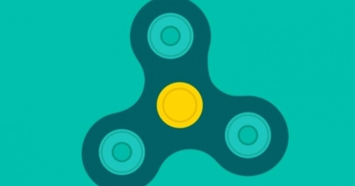 Virtual Fidget Spinner