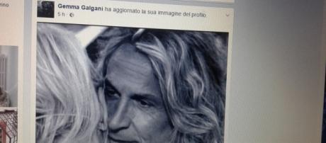 Gemma Galgani ha modificato la foto del profilo inserendo uno scatto con Marco