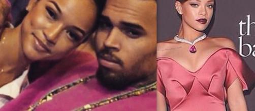 Chris Brown Girlfriend Karrueche Tran Not Intimidated By Rihanna ... - dancehallhiphop.com