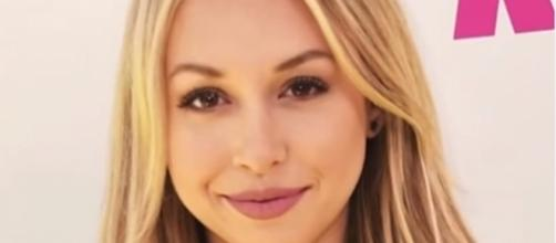 "Corinne Olympios was happy that Evan Bass and Carly Waddell got married despite the ""Bachelor in Paradise"" scandal - YouTube/Access Hollywood"
