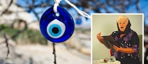 Cure o mau-olhado com uma avó virtual e seu 'olho grego'
