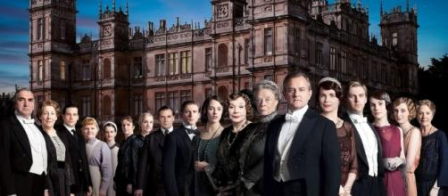 Downton abbey full cast photo -