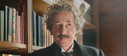 """Geoffrey Rush is Albert Einstein in """"Genius"""" season 1 ~ YouTube/National Geographic"""