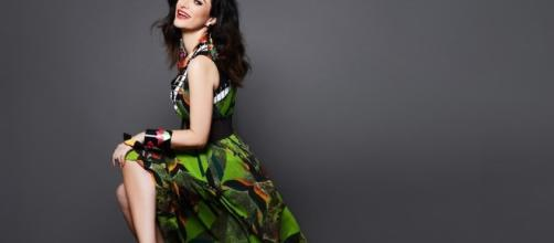 La cantante romagnola Laura Pausini