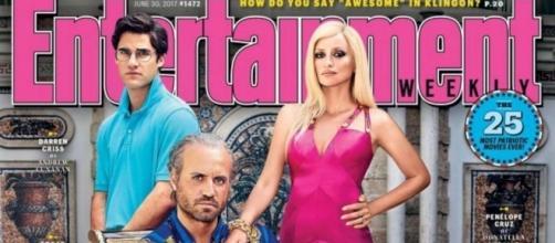 La copertina della rivista 'Entertainment Weekly' con il cast - ew.com