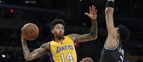 Los Angeles Lakers small forward Brandon Ingram. Photo by Twitter/@SpectrumSN