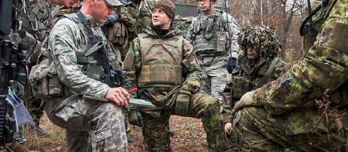 NATO allies train together | Allied patrolling creative commons via wikimedia