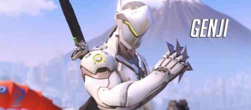 Overwatch: Genji character trailer/Photo via IGN/YouTube screengrab