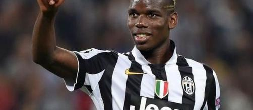 Paul Pogba ai tempi della Juventus.
