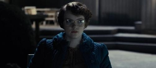 """Shannon Purser played the iconic Barb, who met her untimely death in """"Stranger Things."""" (YouTube/Netflix)"""