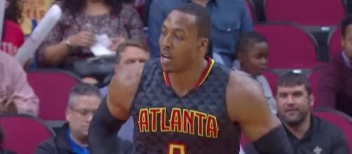 The Atlanta Hawks have dealt Dwight Howard to the Charlotte Hornets. [Image via NBA/YouTube]