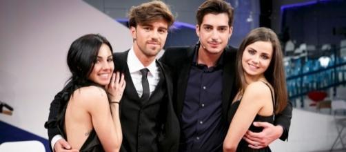 Uomini e Donne: Giulia De Lellis e Andrea Damante; Oscar ed Eleonora.