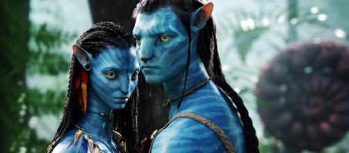 Zoe Saldana e Sam Worthington protagonisti di Avatar