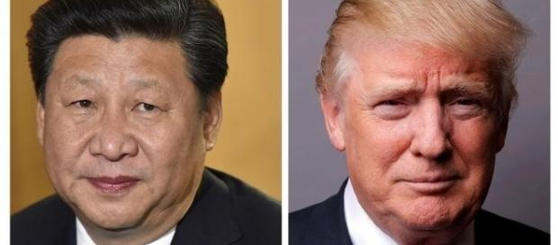 Chinese President Xi Jinping and President Donald Trump
