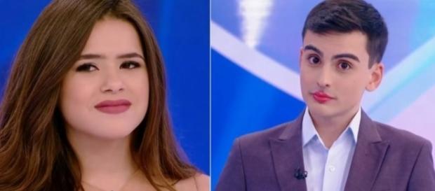 Maísa se irrita diante de polêmica com Dudu Camargo