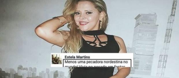 Mulher faz comentário malicioso sobre a morte da cantora Eliza Clivia (Foto: Reprodução/ Montagem)