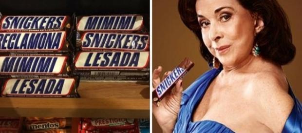 Novas embalagens de Snickers causaram polêmica nas redes sociais (Fotos: Reprodução/Facebook e Divulgação/Snickers)