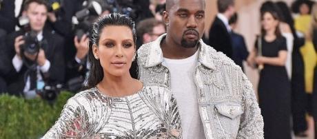 Kim Kardashian and Kanye West - Entertainment Tonight/YouTube