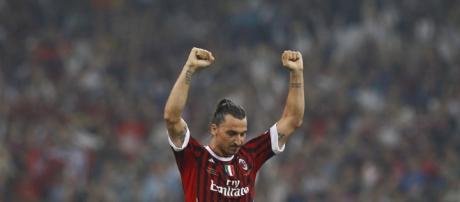 Zlatan Ibrahimovic, 35 anni, potrebbe ritornare al Milan
