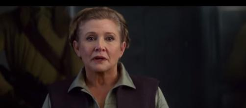 A Tribute To Carrie Fisher - Star Wars/YouTube
