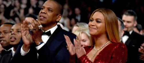Beyonce and Jay-Z reveal their babies' names ... Picture via Entertainment Tonight/YouTube