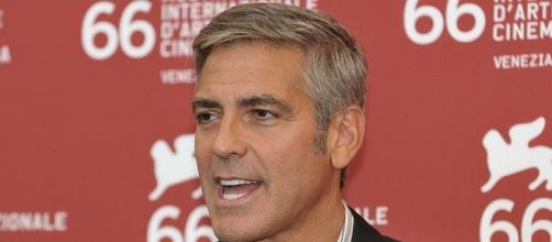 George Clooney at film festival - nicolas genin via Wikimedia Commons