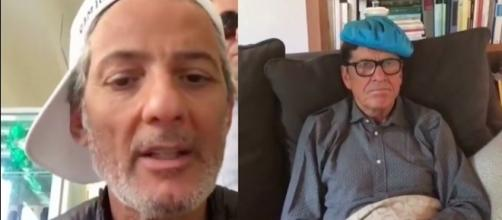 Il video virale del botta e risposta tra Fiorello e Gianni Morandi
