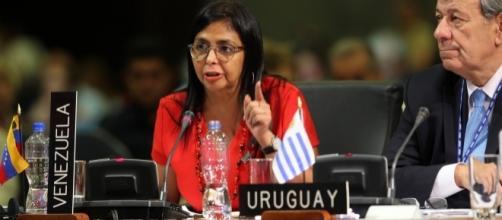 La Canciller Delcy Rodríguez tuvo un papel protagónico durante los trabajos de la Asamblea General