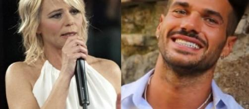 Maria De Filippi e l'ex tronista gay Claudio Sona