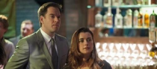 Michael Weatherly and Cote de Pablo played lovers in 'NCIS' - Facebook/NCIS