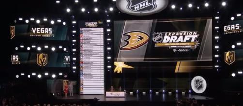 NHL Expansion Draft 2017.| Image credit | NHL Workshop | Youtube