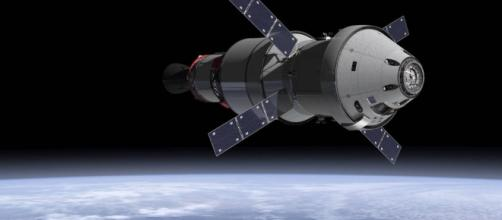 Orion spacecraft in orbit (NASA)