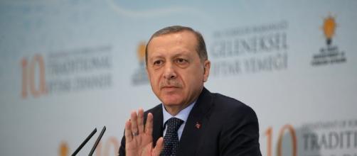 Turkish president Tayyip Recep Erdogan