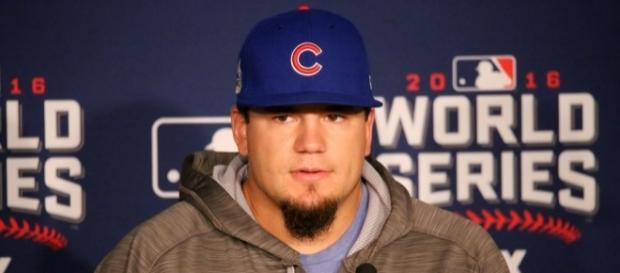 Cubs outfielder, Kyle Schwarber-Flickr