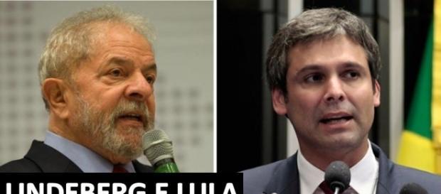 Desavenças entre o ex-presidente Lula e o senador petista Lindbergh Farias se acentuaram após reunião 'reservada' (Foto: Reprodução/ Montagem)